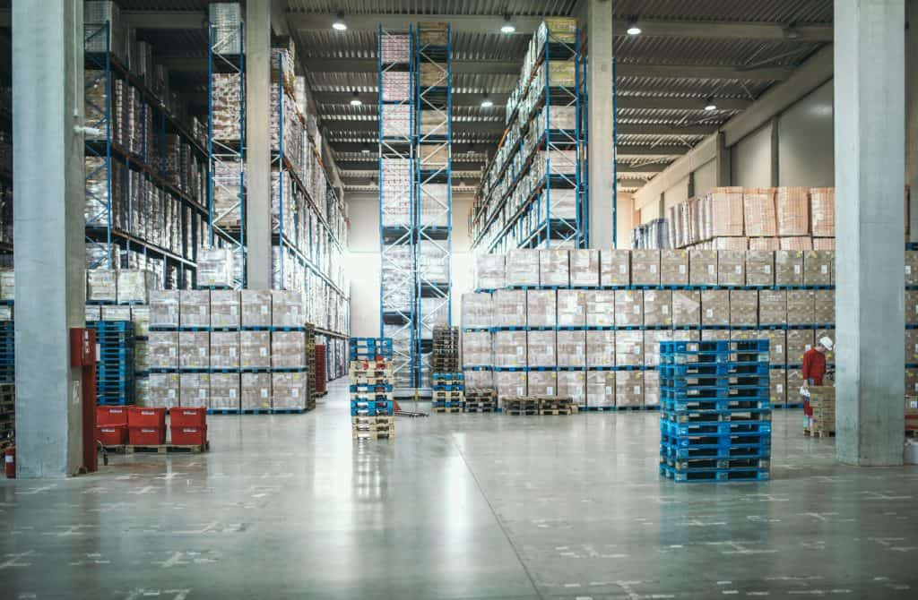 A photo of warehouse interior - what your warehouse must have